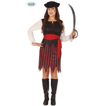 Disf.Chica Pirata Rj/Ng T-L