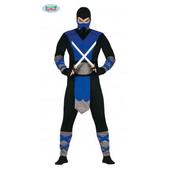 Disf.Ninja Azul T-L