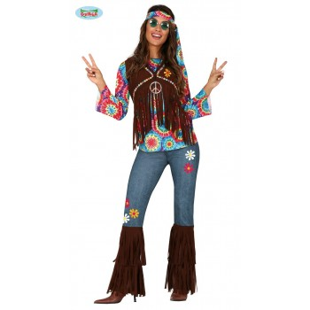 Disf.Chica Hippie T-M