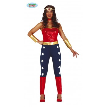 Disf.Superheroina T-M