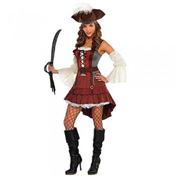 Disf.Chica Pirata Naufrago T-S