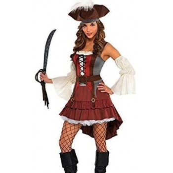 Disf.Chica Pirata Naufrago T-M