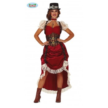 Disf.Chica Steampunk T-M