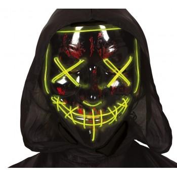 Mascara Negra Con Luz
