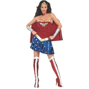 Disf. Wonder Woman T.M.