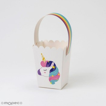 Cajita Asa Unicornio 8X17.5X8
