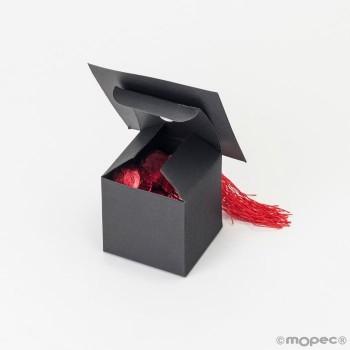 Caja Papel Gorro Graduacion