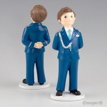 Figura Comunion Almirante Azul