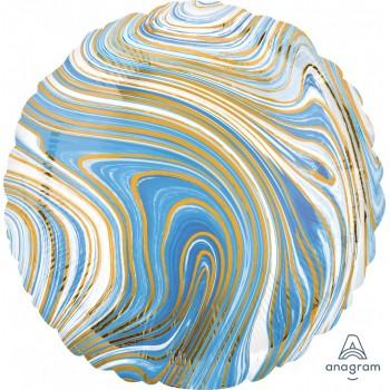 Globo Circulo Marblez Azul