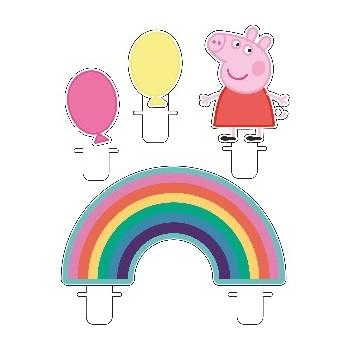 P/4 Velas Peppa Pig Party