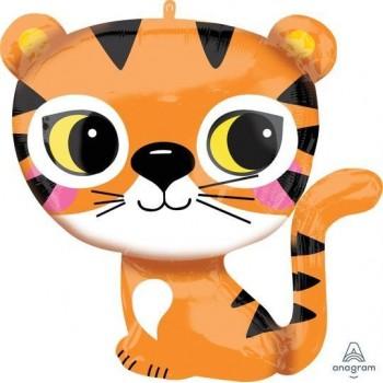 Globo Tigre 63X63cm