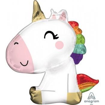 Globo Unicornio Sentado 68X73m