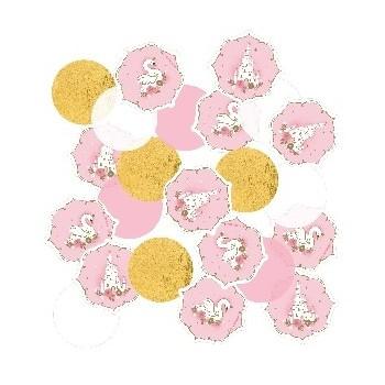 Confetti Princesa Rosa Cisne
