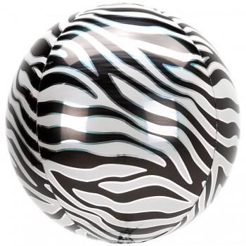Globo Orbz Print Zebra