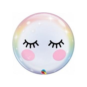 Globo Burbuja Ojitos+Cachetes