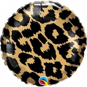 "Globo 18""Leopardo Metalizado"