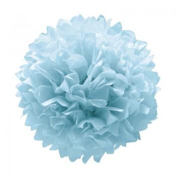 P/3 Pompon Azul Pastel