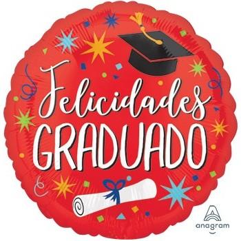 """Globo 18""""Felicidades Graduado"""