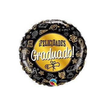 """Globo 18""""Felicidades Graduado!"""