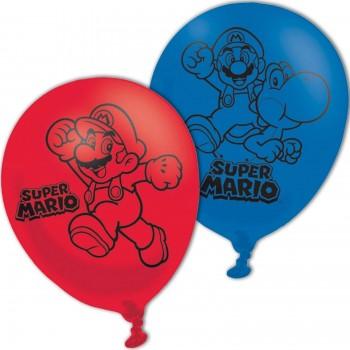 P/6 Globo Super Mario Latex 4C
