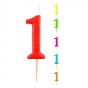 Vela Nº1 Color Surt.