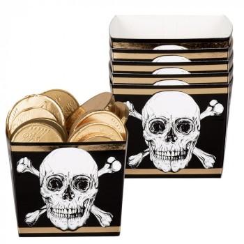 P/6 Bol Carton Piratas