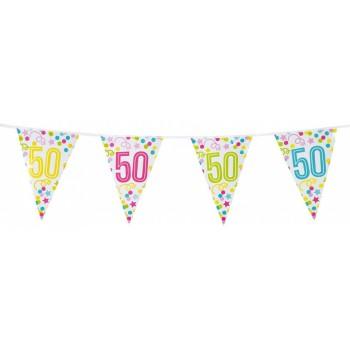 Banderin Nº50 Confetti