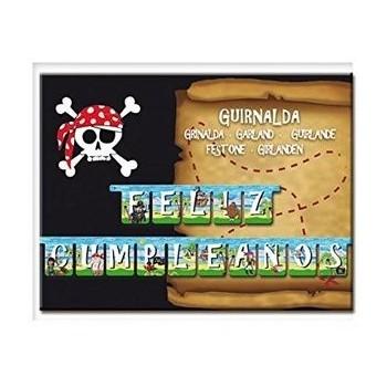 Guirn.Feliz Cumpleaños Pirata
