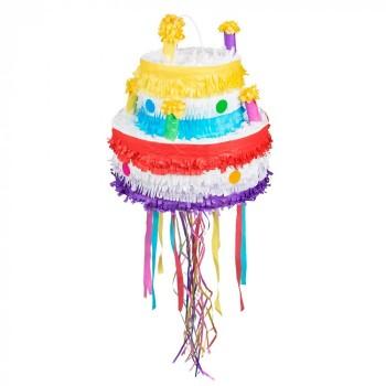 Piñata Tarta Velas C/Cinta