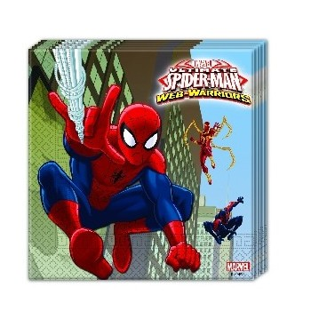 P/20 Serv. Spiderman Ultimate