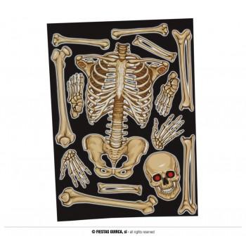 Dec.Ventana Esqueleto 30X40cm