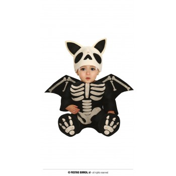 Disf.Skeleton Bat 12-24 Meses
