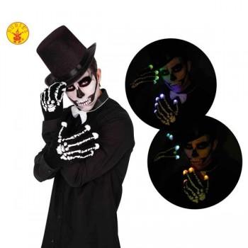 Guantes Esqueleto C/Luz