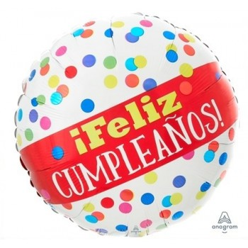 "Globo 18""Feliz Cumpleaños Topo"
