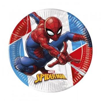 P/8 Plato 23Cm Spiderman Compo