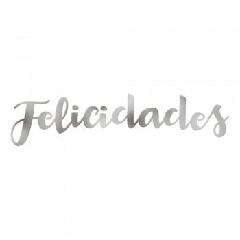 """Letras Metal""""Felicidades"""""""