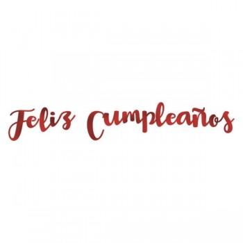 """Letras Metal""""Feliz Cumpleaños"""""""
