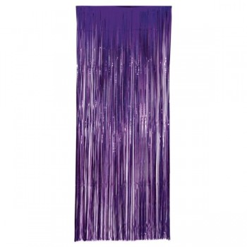 Cortina Metal Morado 1X2,40Mt
