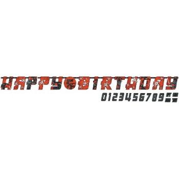Guirnalda H. Birthday personalizable Ninja