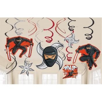 Dec. colgante Ninjas