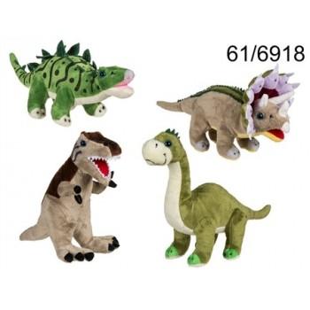 Peluche Dinosaurio 31Cm Surt.