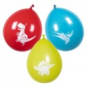 B/6 Globo Dino Party Colores