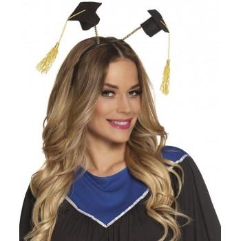 Diadema 2Sombreros Graduacion