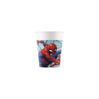 P/8 Vaso Carton Spiderman New