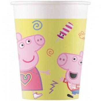 P/8 Vaso Carton Peppa Pig Chuc