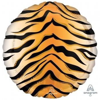"""Globo 18"""" animal print tigre"""