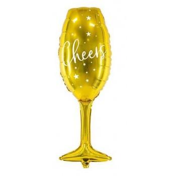 Globo 80Cm Copa Oro Cheers
