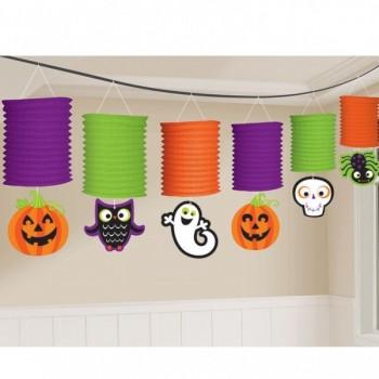 Guirn.Farolillos Halloween