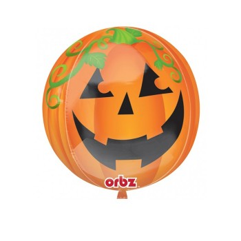 Globo Orbz Calabaza Halloween