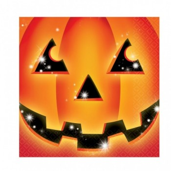 P/16 Serv. Calabaza Halloween